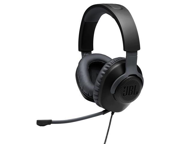 Headset Gamer JBL Quantum 100 Drivers 40mm Preto 28913174