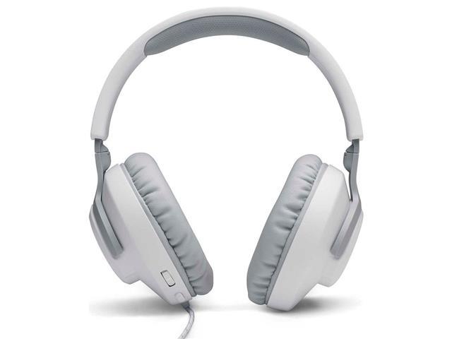 Headset Gamer JBL Quantum 100 Drivers 40mm Branco 28913225 - 2