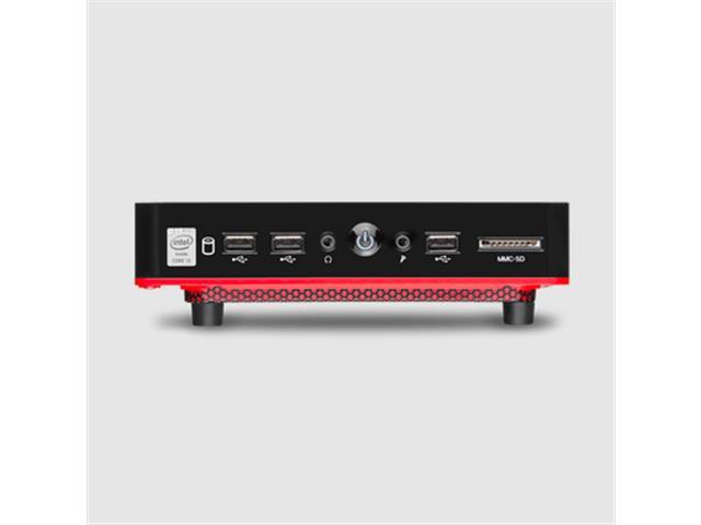 Mini Desktop Multialser DT029 UrbanRed Core i3 4GB RAM 240GB SSD Linux - 2