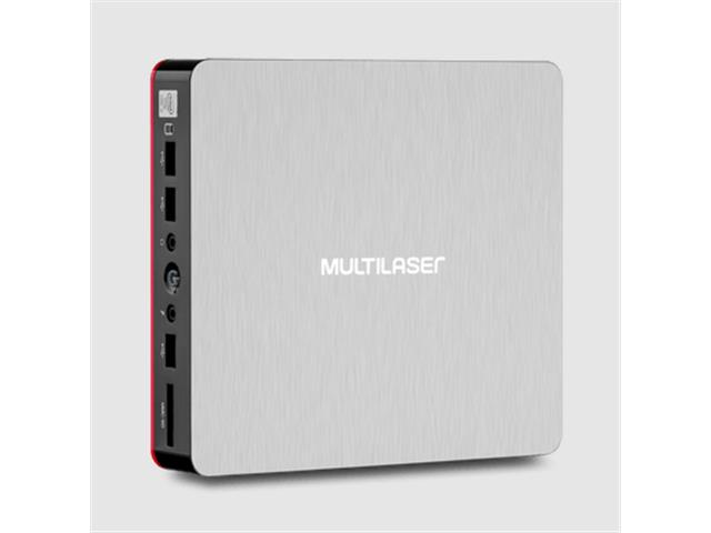 Mini Desktop Multialser DT029 UrbanRed Core i3 4GB RAM 240GB SSD Linux - 4