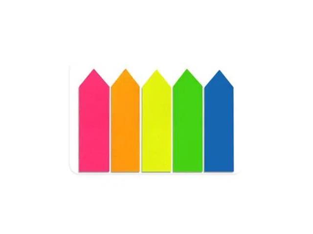 Flag Seta Keep EI024 12x44mm 5 Cores Neon 100Fls