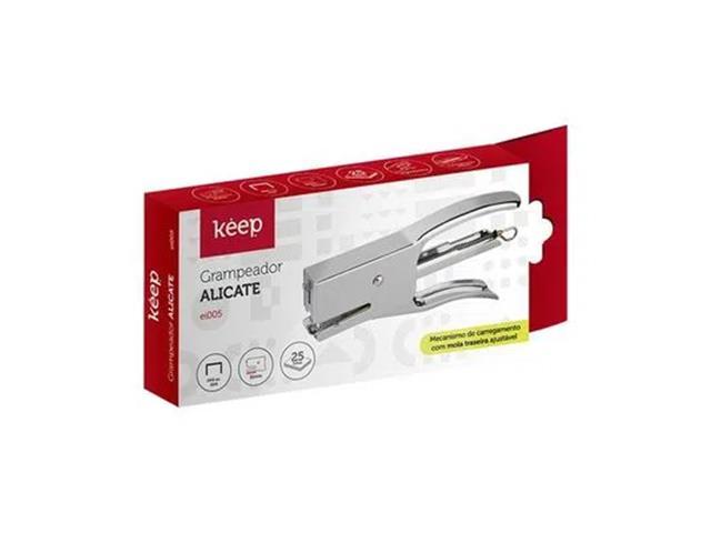 Grampeador Alicate Keep EI005 25Fls 26/6 24/6 - 1