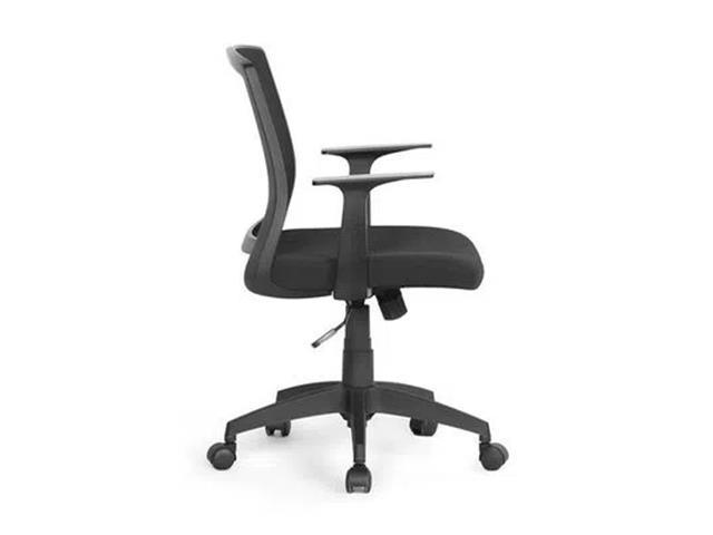 Cadeira de Escritório Multilaser GA181 Clean Office Preta - 1
