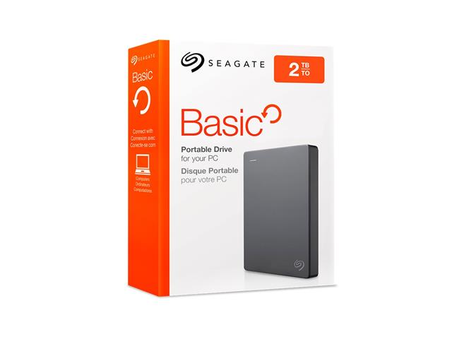 HD Externo Portátil Seagate Basic SE310 STJL2000400 USB 3.0 2TB