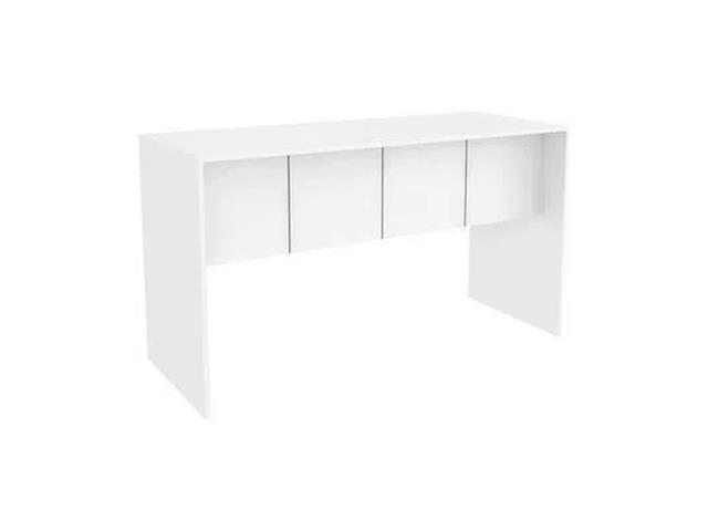 Mesa para Computador Multilaser EI075 Branco Fosco 136CM - 1