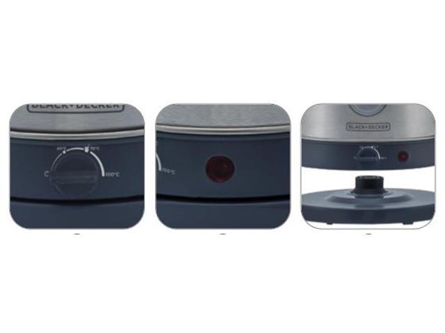Chaleira Elétrica em Inox Black&Decker Gourmand Gris 1,8 Litros - 1