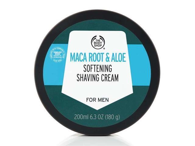 Creme de Barbear The Body Shop Maca Root e Aloe Vera 200ML - 1