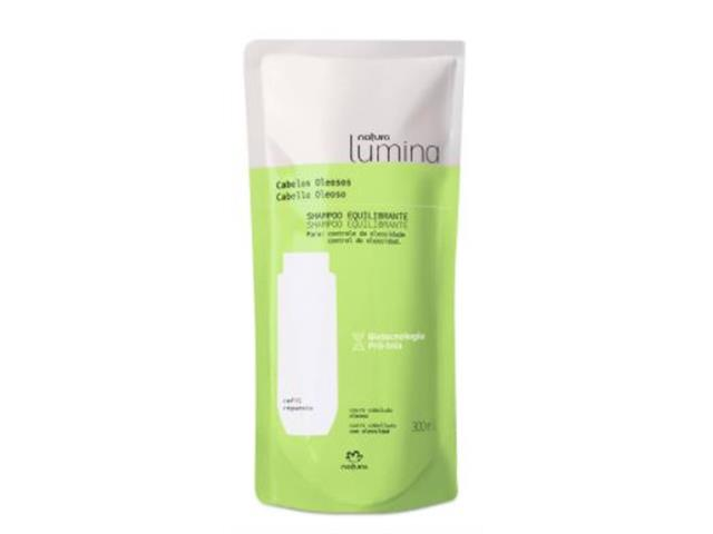 Refil Shampoo Natura Lumina Equilibrante 300ML
