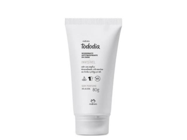 Desodorante Antitranspirante em Creme Natura TodoDia Sem Perfume 80G
