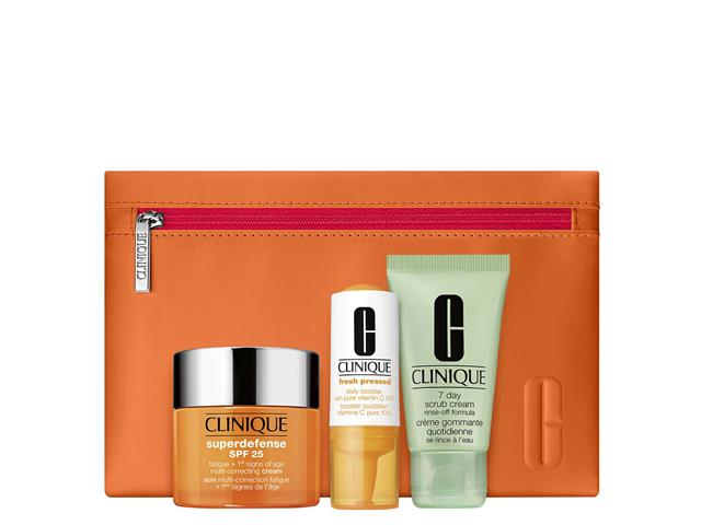 Set Superdefense 50 ml + Vit C, Clinique