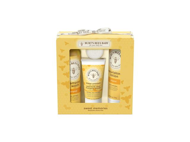 Kit de Regalo Baby Sweet Memories, Burts Bees