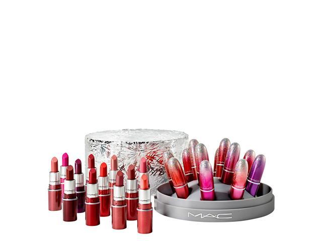 Set Mini Lipstick Surefire Hit x12, Mac Cosmetics