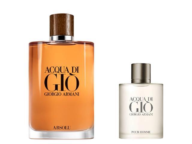 Set Perfume Hombre Acqua Di Gio 200 ml + 30 ml, Giorgio Armani