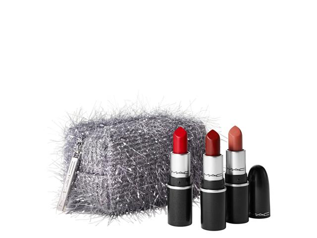 Set Mini Lipstick Fireworked Like A Charm, Mac Cosmetics
