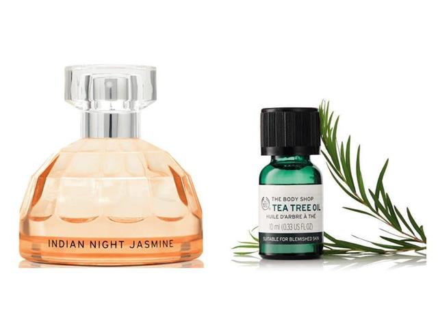 Combo The Body Shop Perfume Jasmine EDT 50ML + Óleo Tea Tree 10ML