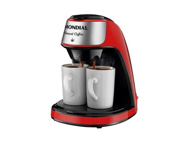 Cafeteira Elétrica Mondial C-42-2X-RI Smart Coffe Vermelha 220V