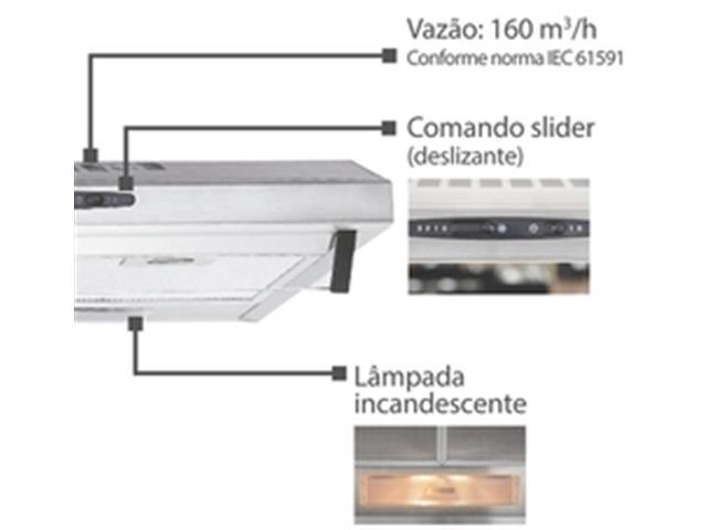 Depurador de Ar Tramontina Compact 60 Inox - 4