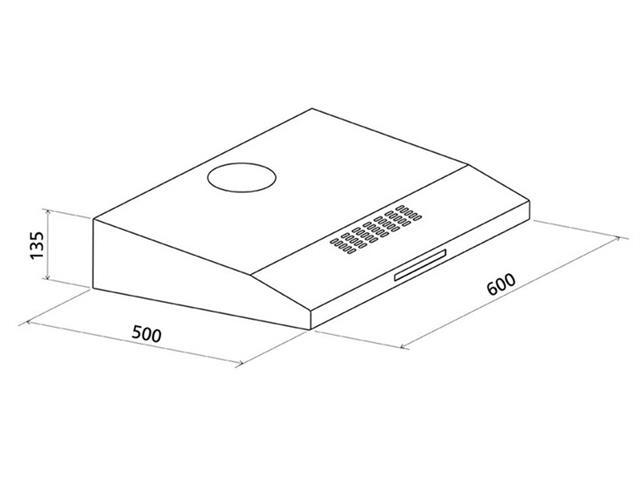 Depurador de Ar Tramontina Compact 60 Inox 110V - 1