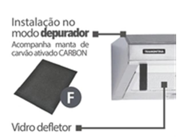 Depurador de Ar Tramontina Compact 60 Inox 110V - 2