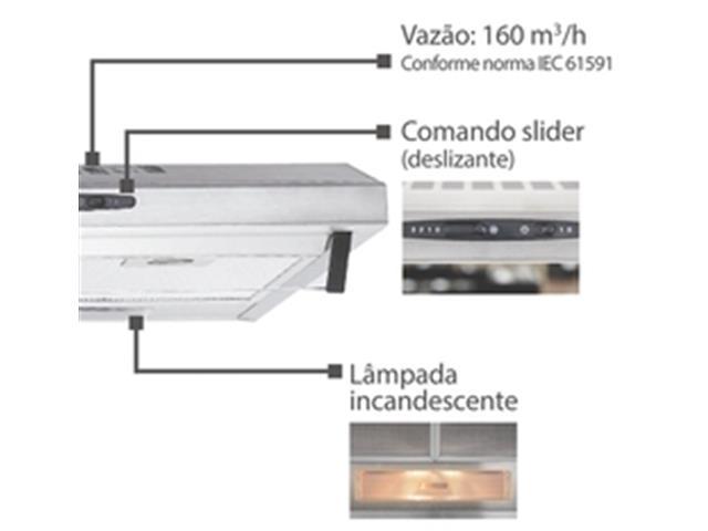 Depurador de Ar Tramontina Compact 60 Inox 110V - 3