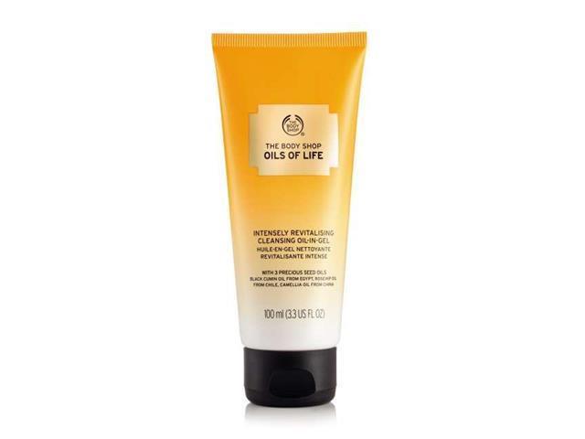 Gel de Limpeza facial Revitalizante The Body Shop Oils of Life 100ML - 1