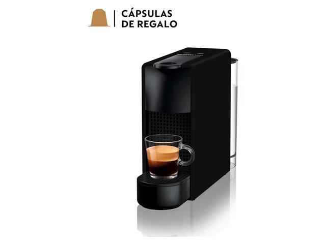 Cafetera Nespresso Essenza mini negra