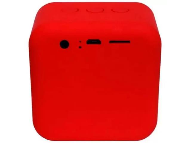 Caixa de Som Bluetooth Xtrax Pocket Vermelha - 1