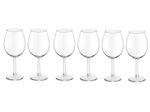 Jogo de Taças para Vinho Vinissimo 6 Peças de 430ML