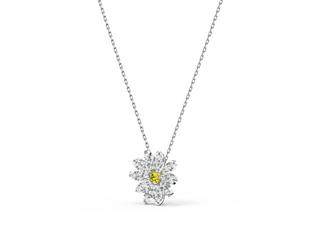 Colar Swarovski Eternal Flower Yellow - 2