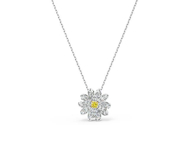 Colar Swarovski Eternal Flower Yellow - 1