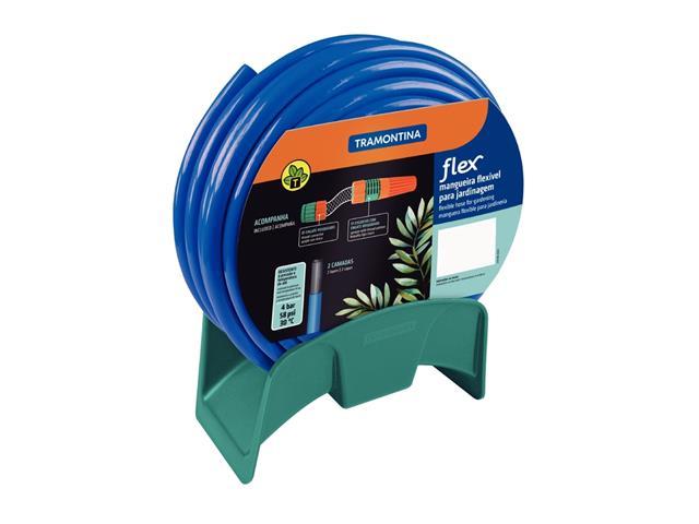 Mangueira Flex Tramontina Azul em PVC 2 Camadas 20 Metros