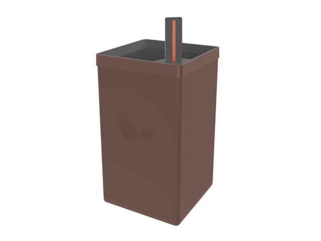Vaso Autoirrigável Tramontina em Polipropileno Marrom 800ML