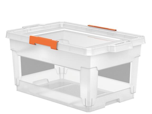 Caixa Organizadora Tramontina 60 Litros Transparente