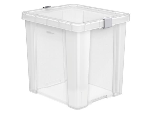 Caixa Organizadora Tramontina Office 42 Litros Transparente