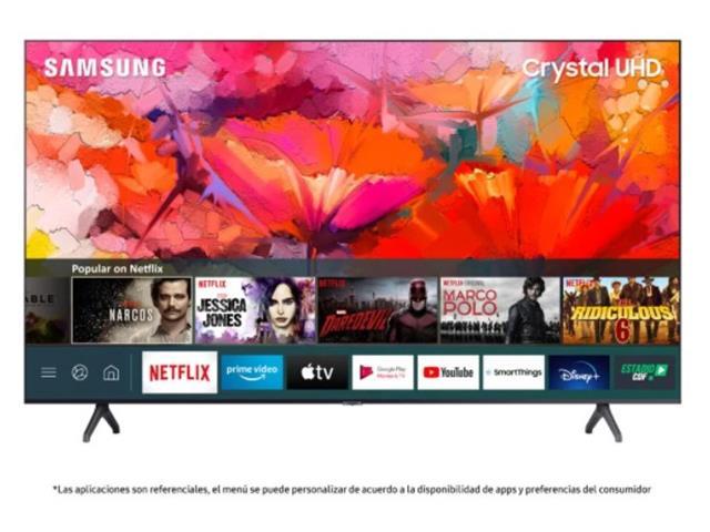 LED Samsung 75p TU6900 Crystal UHD 4K Smart TV