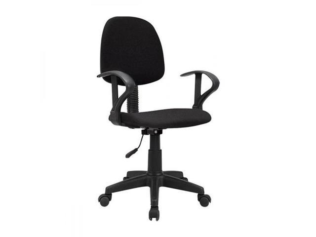 Cadeira de Escritório Multilaser GA209 Start Giratória Preta