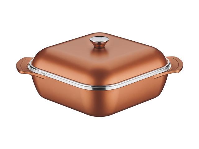 Caçarola Tramontina Lyon Design Collection Dourada 28cm