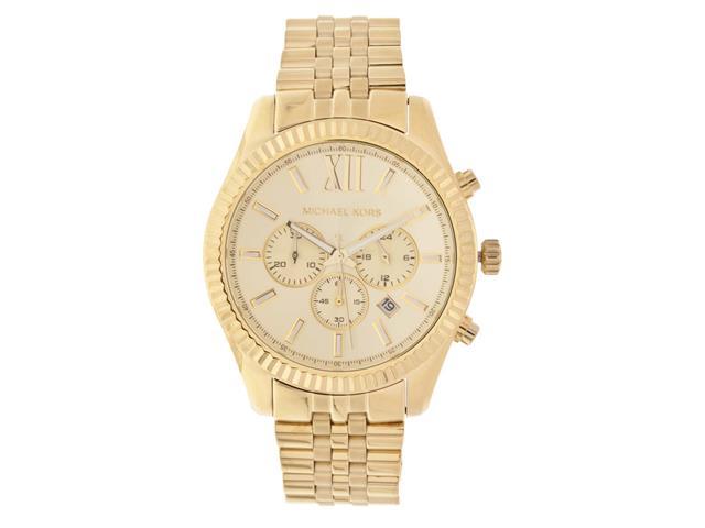 7b0fc04f02b Relógio Michael Kors Feminino Dourado OMK8281Z - Bayer