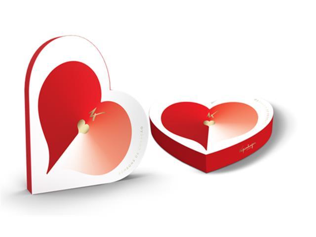 Caixa Bombons Coração Recheados Kopenhagen 12 Unidades - 8