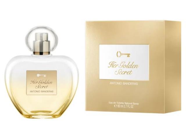 Perfume Antonio Banderas Her Golden Secret Feminino EaudeToilette 80ML