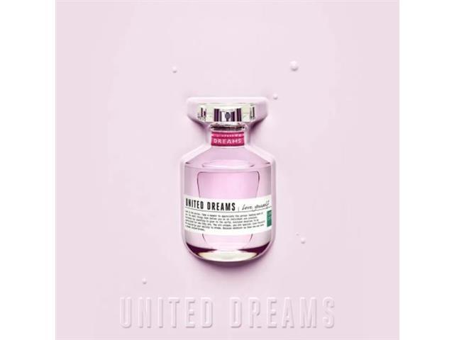 Perfume Benetton United Dreams Love Yourself Feminino EDT 50ML - 3
