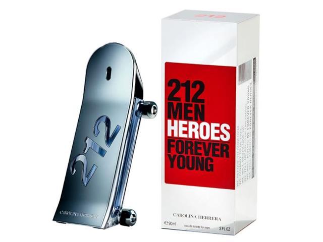 Perfume Carolina Herrera 212 Heroes Masculino Eau de Toilette 90ML