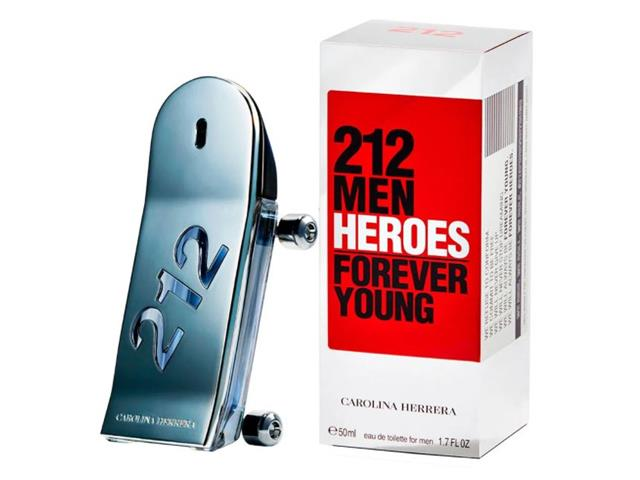 Perfume Carolina Herrera 212 Heroes Masculino Eau de Toilette 50ML