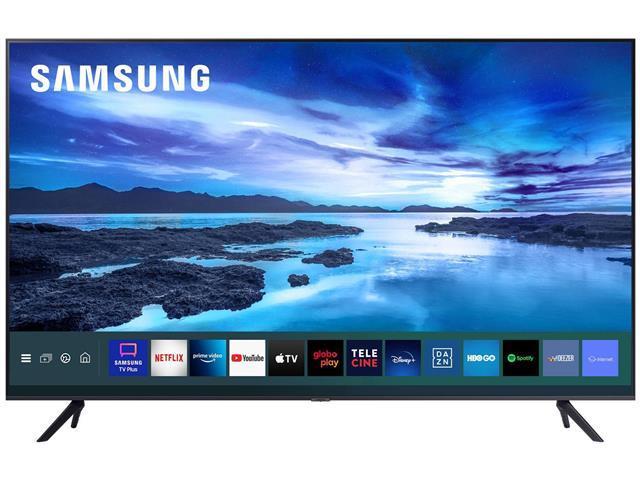"Smart TV LED 55"" Samsung Ultra HD 4K HDR c/Conv.TV Digital 3 HDMI 1USB"