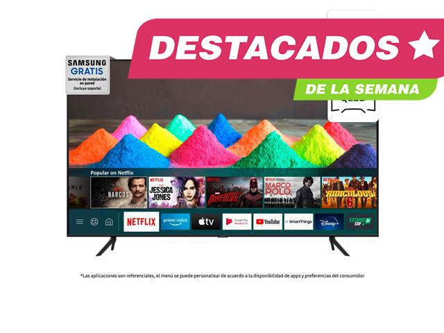 LED 70 4K Ultra HD Smart TV 2021 / AU7000, Samsung