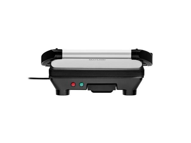 Grill Panini Multilaser com Abertura 180 Graus 1500W 110V - 3