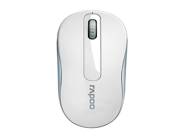 Mouse sem Fio Rapoo M10 RA008 2.4 Ghz com Pilha White