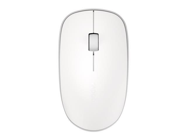 Mouse Rapoo RA012 Bluetooth + 2.4 Ghz com Pilha White M200