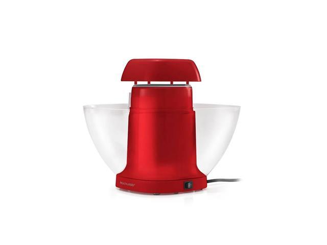 Pipoqueira Elétrica de Tigela Multilaser Gourmet Vermelha 110V - 1