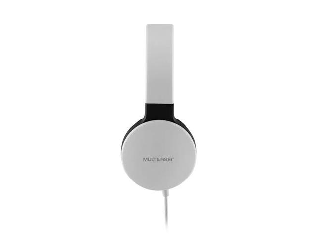 Fone de Ouvido Headphone Dobrável Multilaser PH269 New Fun P2 Branco - 2